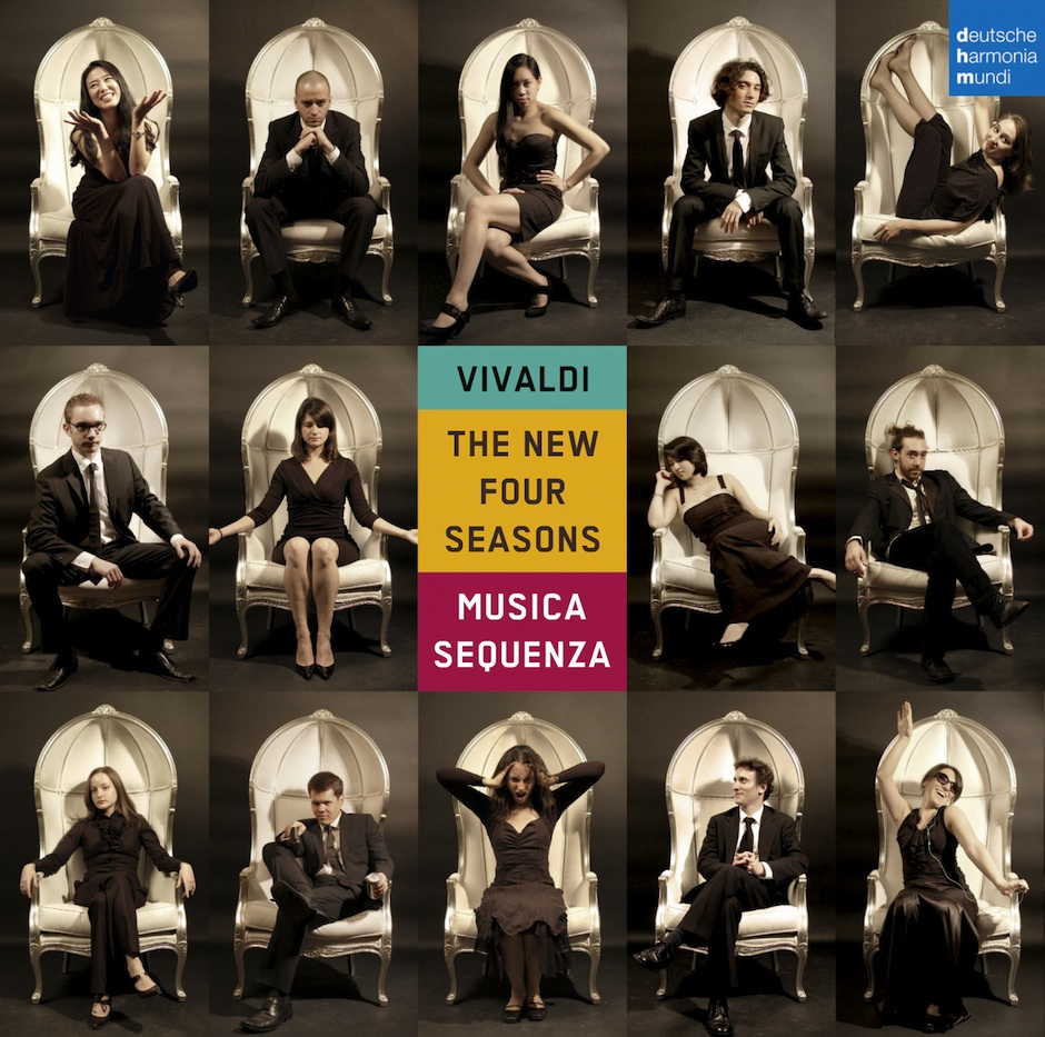 VIVALDI THE NEW 4 SEASONS CD